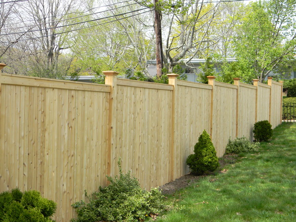 city locally style wood wooden panel oklahoma pickets made panels fence cedar sectional decorative built privacy sections in absolute