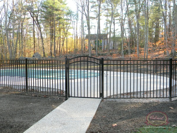 decorative aluminum fencing. Aluminum Fence  Colonial Co Norfolk MA