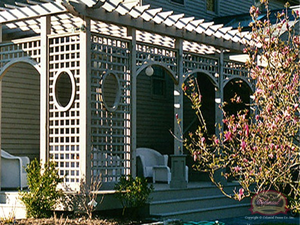 Wood Fence Custom Specialties Colonial Fence Co Norfolk MA