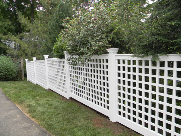 Vinyl Fence Panels massachusetts vinyl fence leader - colonial fence co. - vinyl