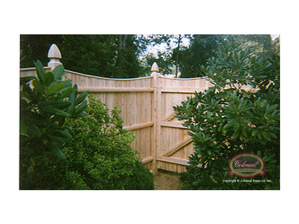 6 ft. x 8 ft. Western Red Cedar Horizontal Lattice Top Fence Panel