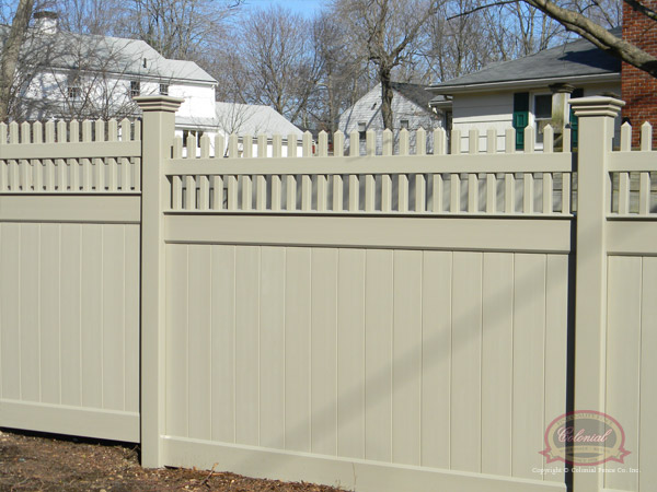 Vinyl Fence Privacy Screen